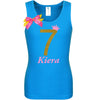 7th Birthday Shirt - Golden Caramel - Shirt - Bubblegum Divas Store