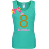 8th Birthday Shirt - Golden Caramel - Shirt - Bubblegum Divas Store