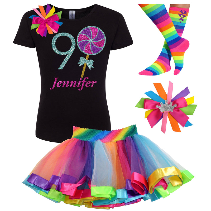 9th Birthday Outfit - Berry Twist Lollipop - Outfit - Bubblegum Divas Store
