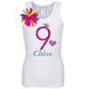 9th Birthday Shirt - Bubble Berry Sparkle - Shirt - Bubblegum Divas Store