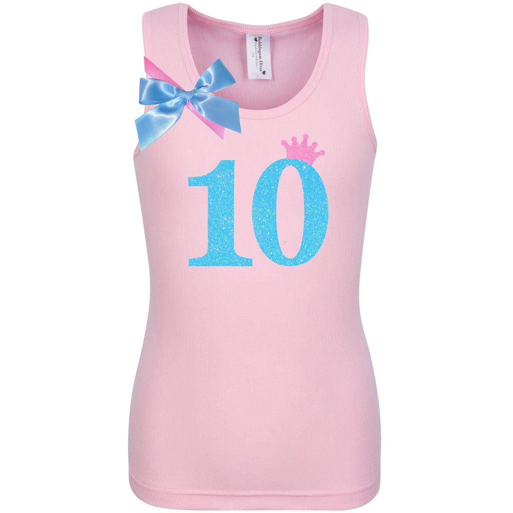 10th Birthday Shirt - Sweet Candy Cotton