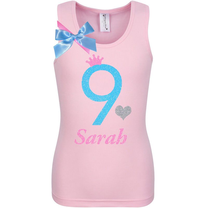 9th Birthday Shirt - Sweet Candy Cotton