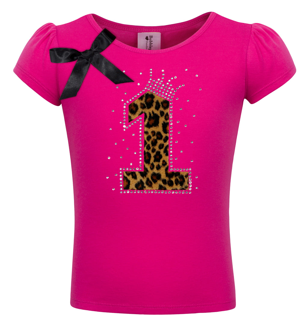 1st Birthday Shirt - Cheetah Girls - Shirt - Bubblegum Divas Store