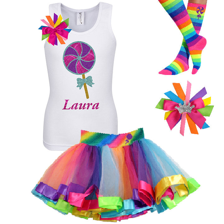 Berry Twist Lollipop Outfit - Lollipop Birthday Outfit Kids Teens Girls - Bubblegum Divas Store