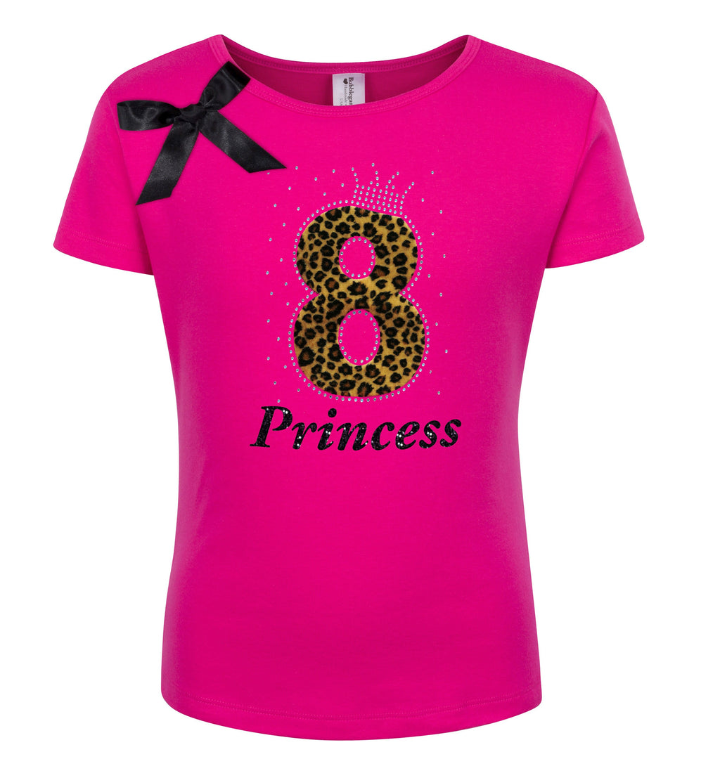 8th Birthday Shirt - Cheetah Girls