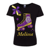 12th Birthday  Black Roller Skate Shirt - Shirt - Bubblegum Divas Store