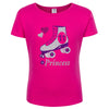 11th Birthday Roller Skate Shirt Silver Crush- Shirt - Bubblegum Divas Store