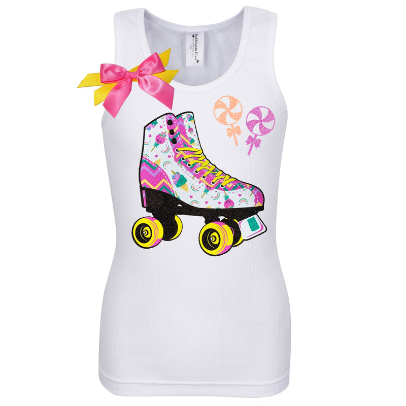Unicorn Candy Skate Butter Cake Shirt