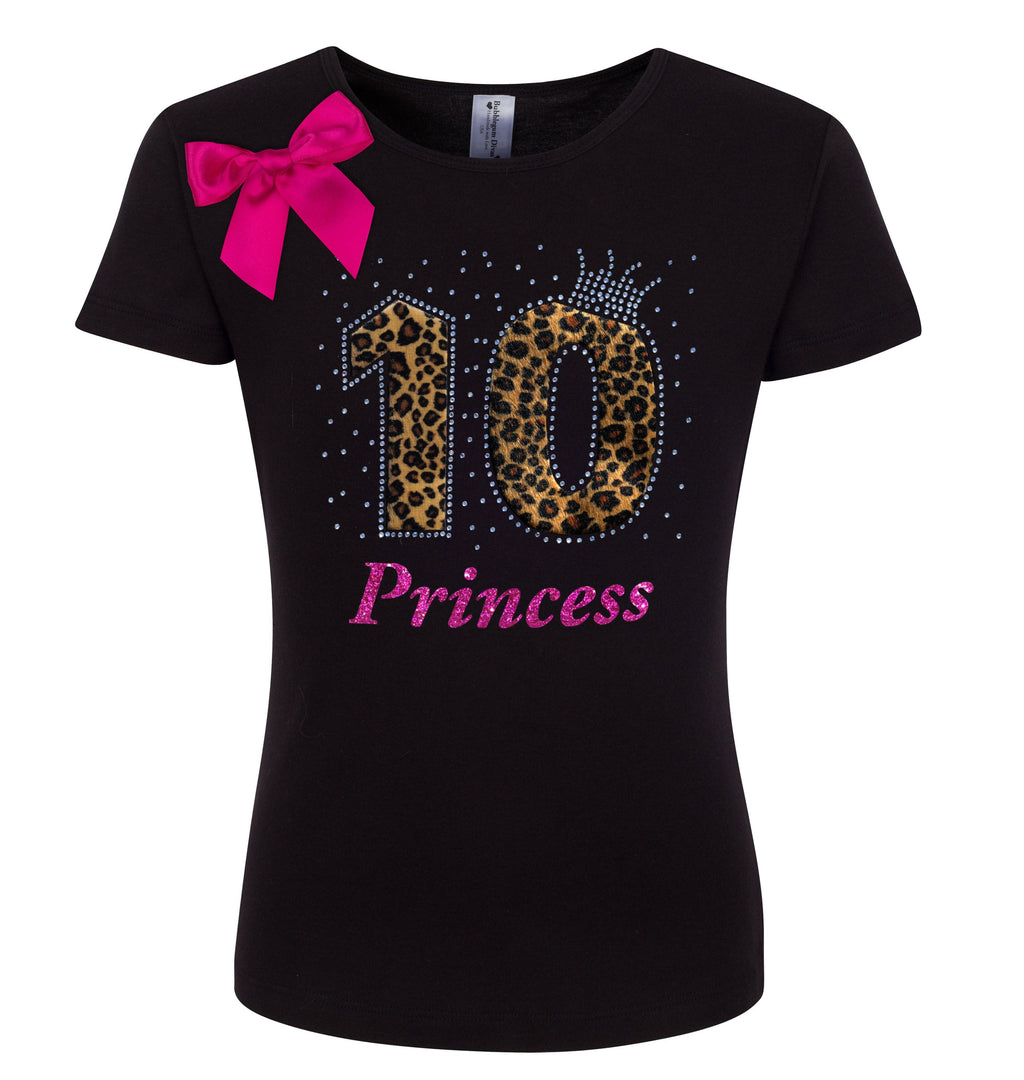 10th Birthday Shirt - Cheetah Girls - Shirt - Bubblegum Divas Store