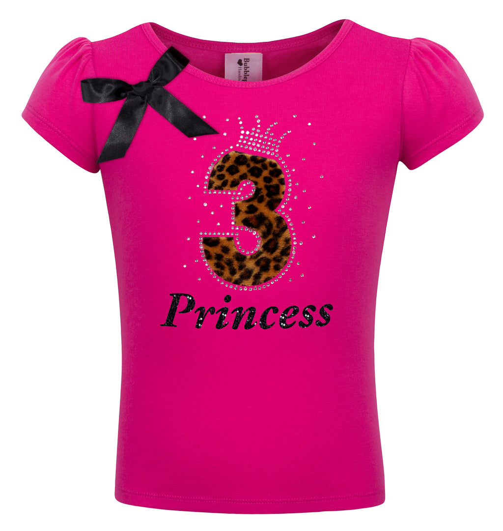 3rd Birthday Shirt - Cheetah Girls - Shirt - Bubblegum Divas Store