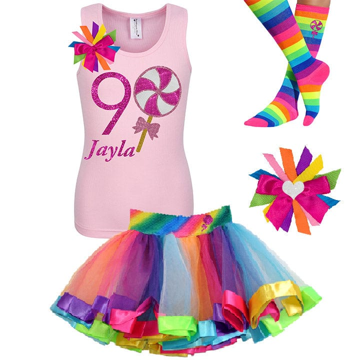 9th Birthday Girl Shirt - 9th Birthday Outfit - Bubblegum Divas Store