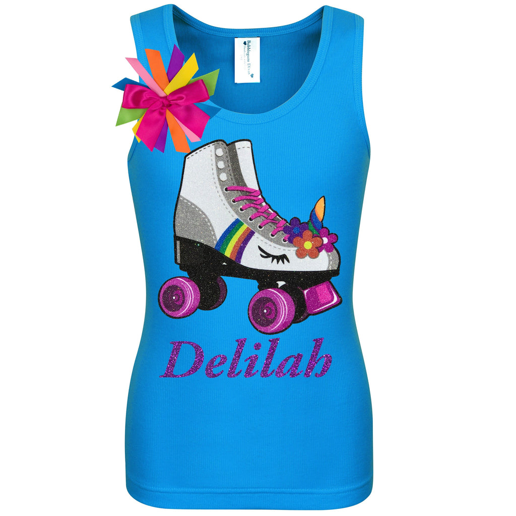 Princess Skate Blue Shirt