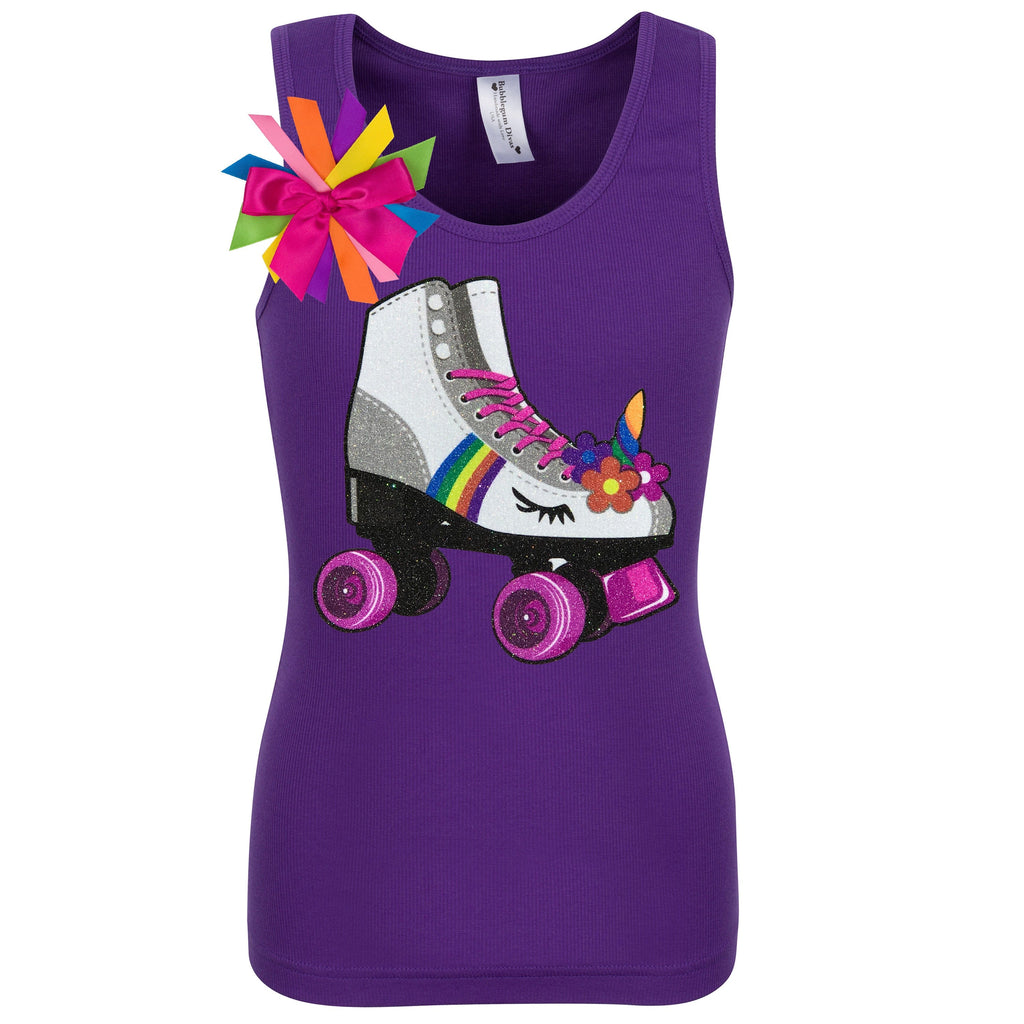Princess Skate Purple Shirt