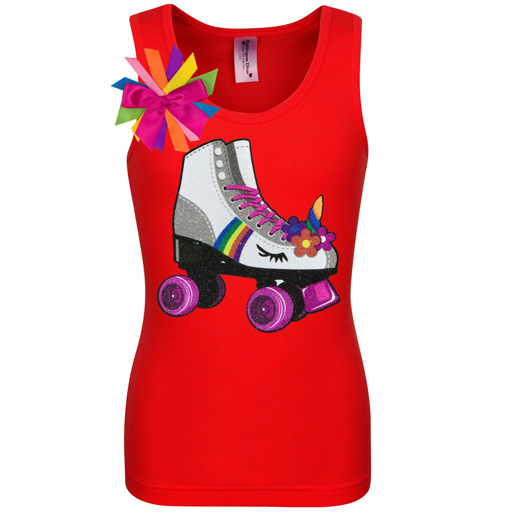 Princess Skate Red Shirt