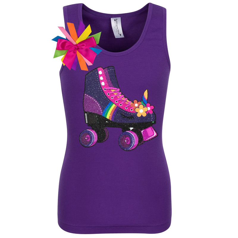 Twilight Unicorn Skate Purple Shirt