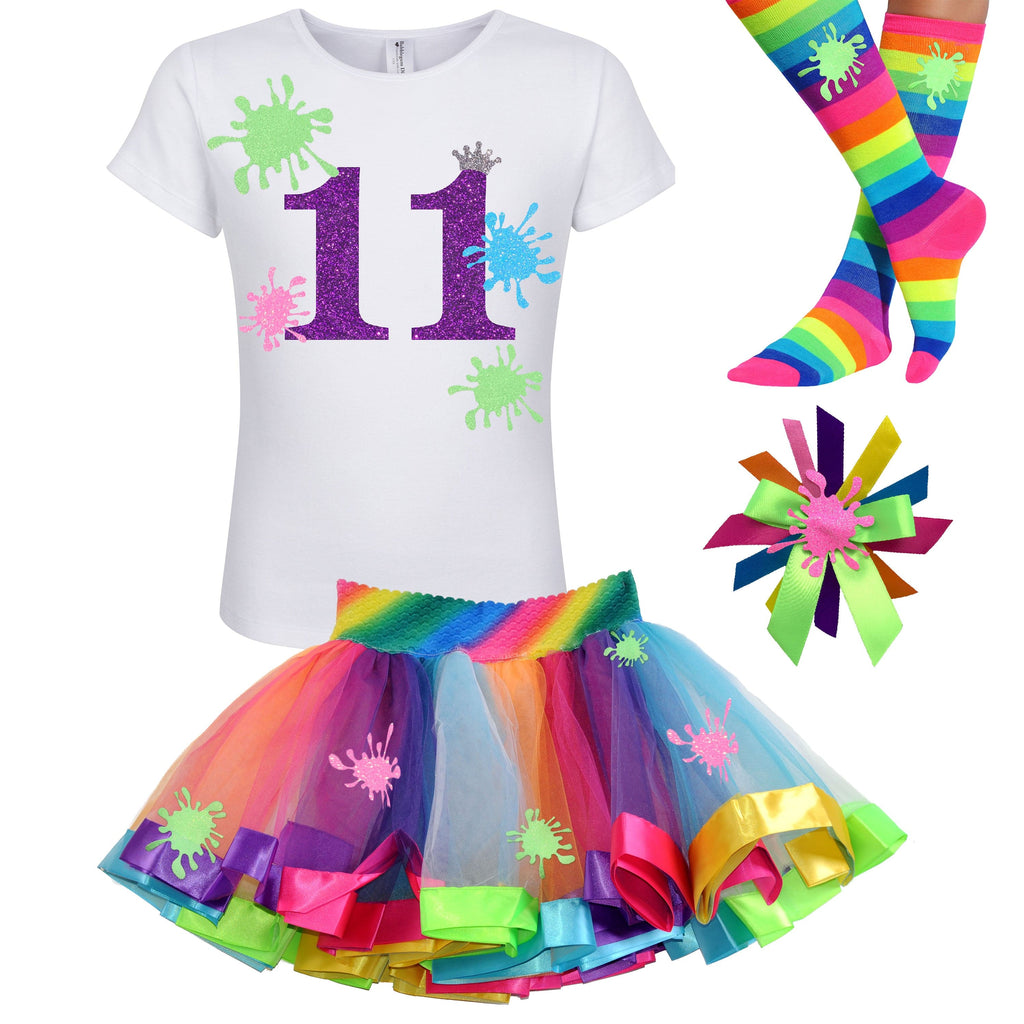 Slime Party Shirt - 11th Birthday Outfit - Outfit - Bubblegum Divas Store