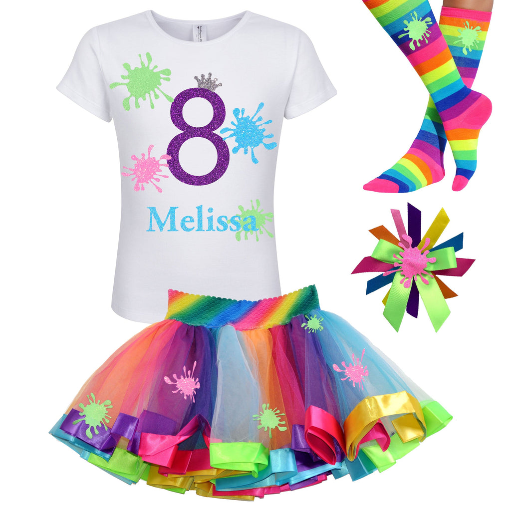Slime Birthday Party Outfit Girls 8