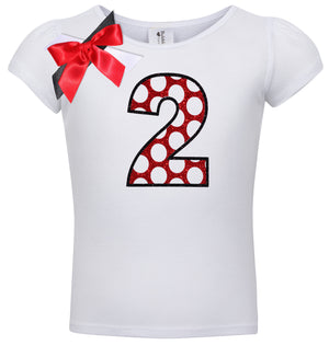 2nd Birthday Shirt - Love Bug - Shirt - Bubblegum Divas Store