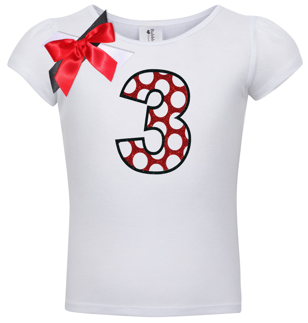 3rd Birthday Shirt - Love Bug - Shirt - Bubblegum Divas Store