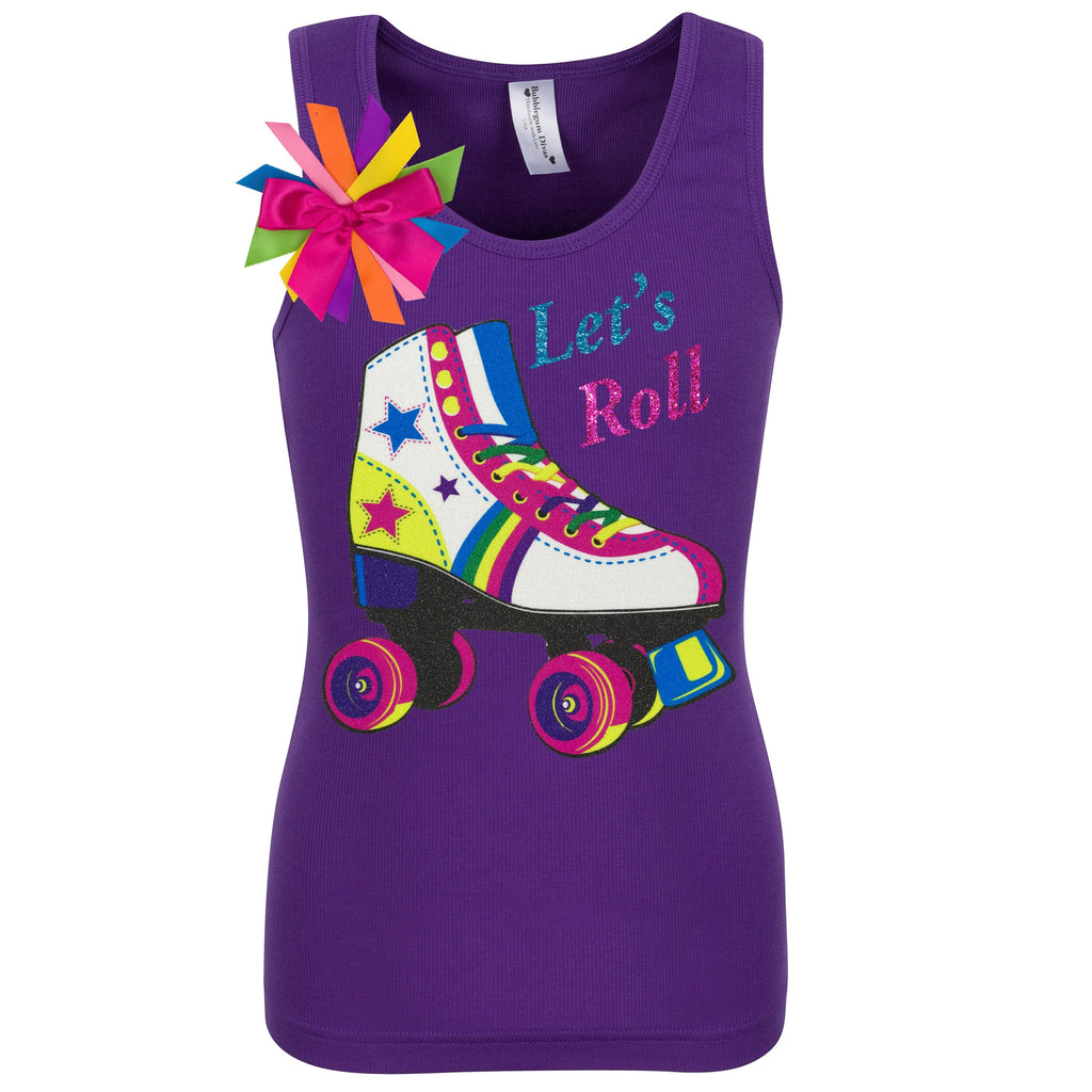 Lucky Star Skate Shirt Purple