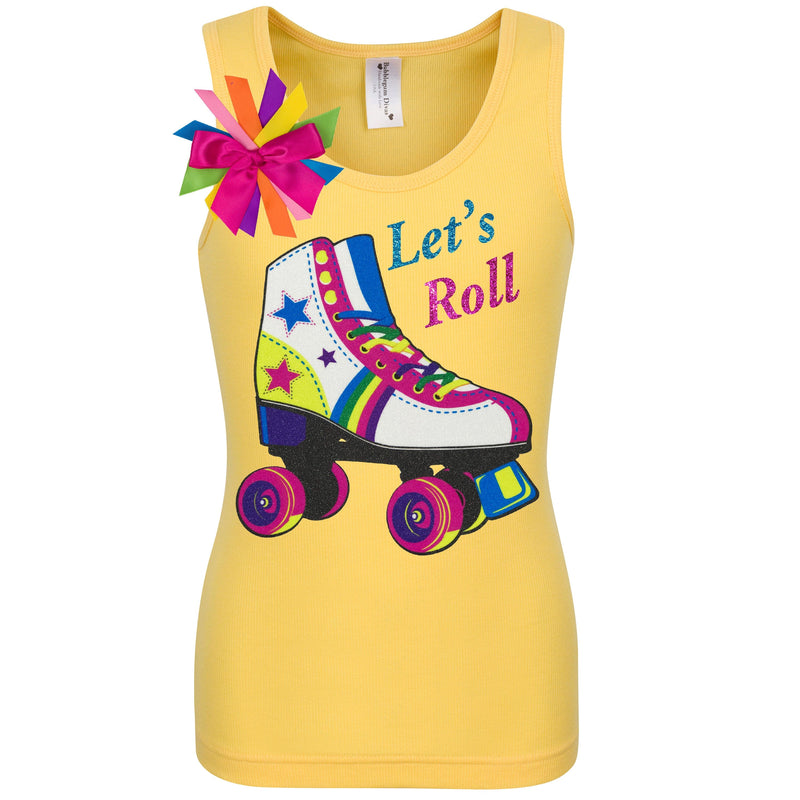 Lucky Star Skate Shirt Yellow
