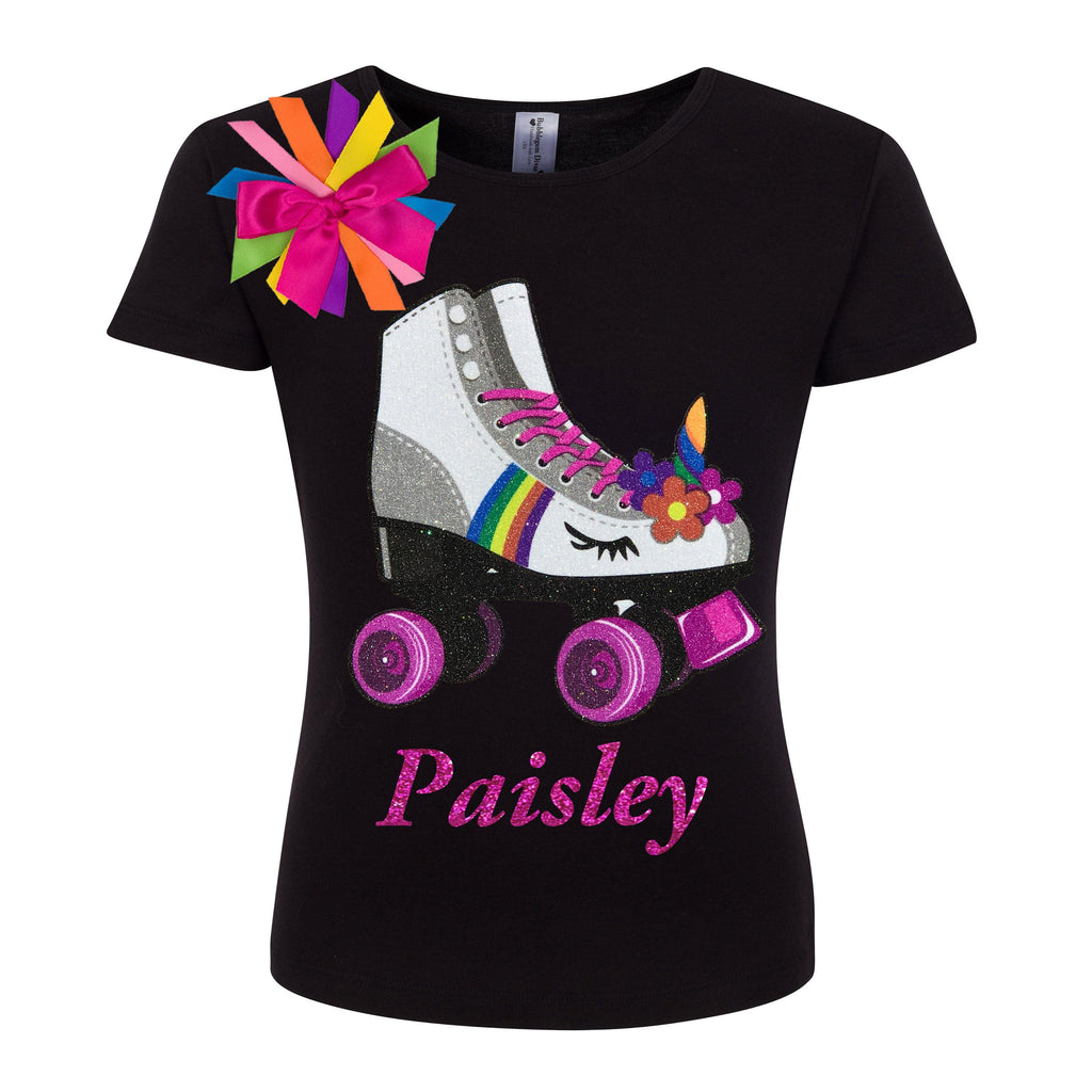 Princess Skate Black Shirt