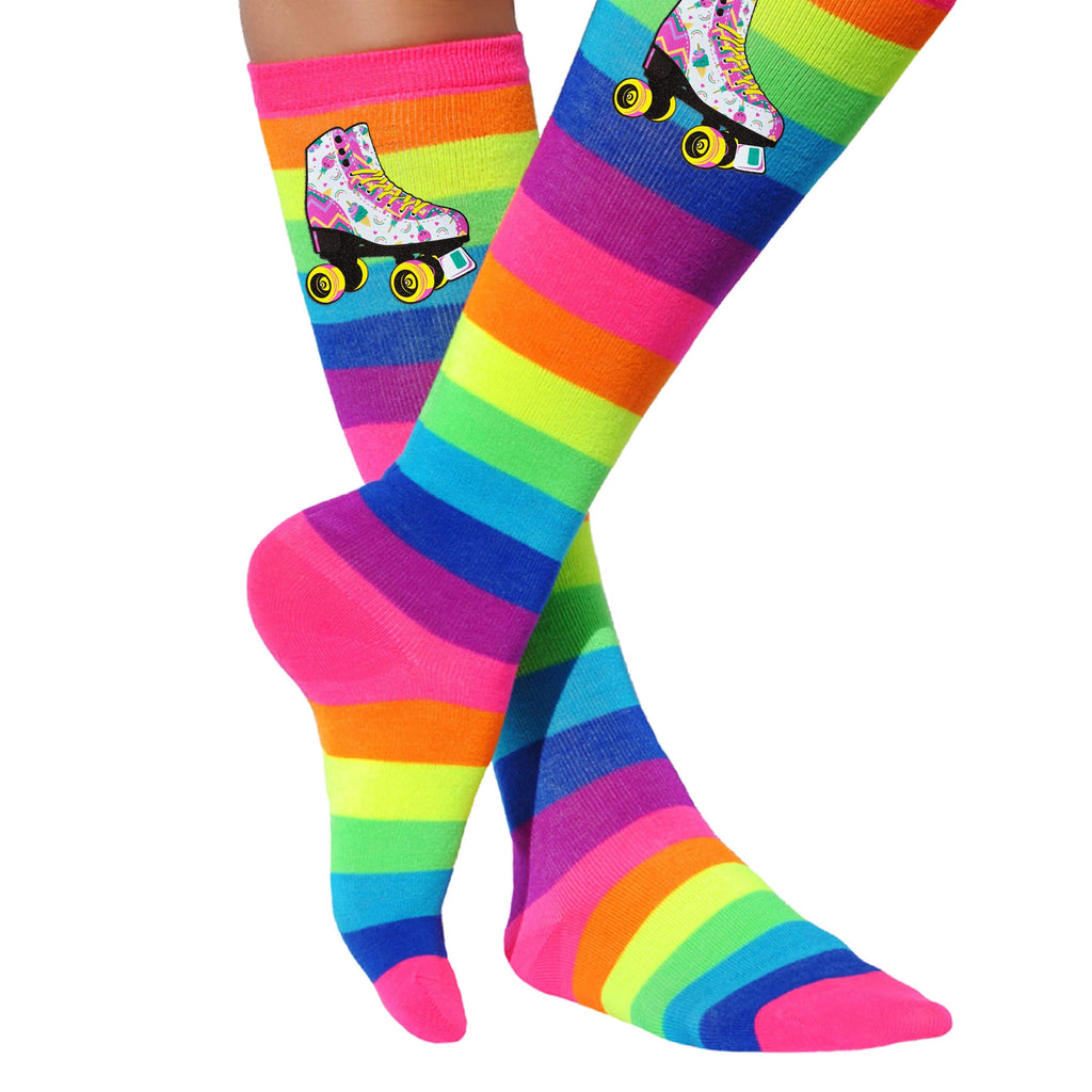 Unicorn Candy Skate Socks