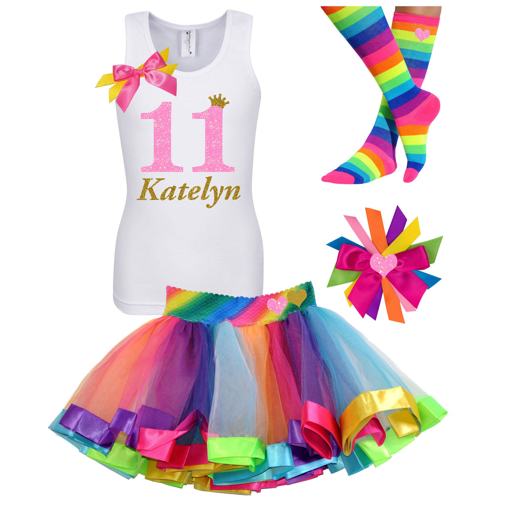 11th Birthday Outfit - Pink Sugar - Outfit - Bubblegum Divas Store
