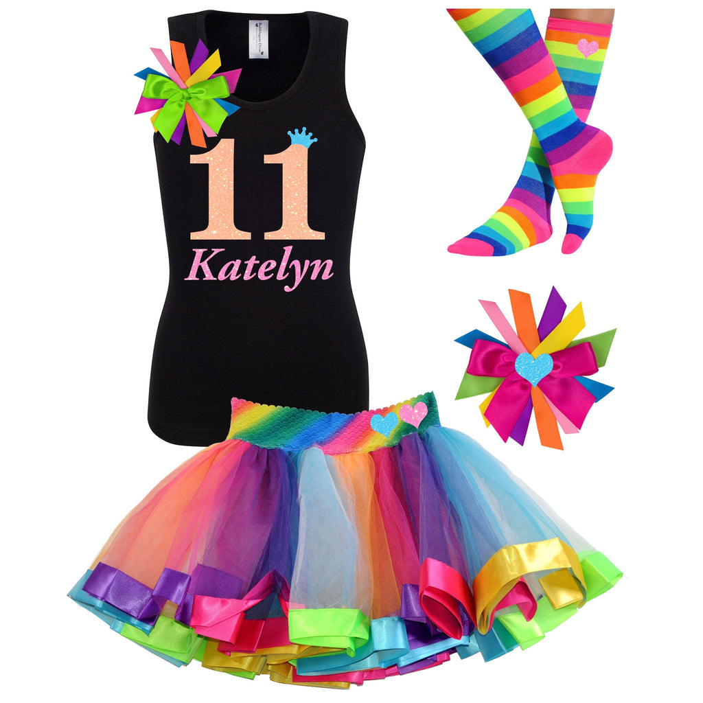 11th Birthday Outfit - Neon Glow - Outfit - Bubblegum Divas Store
