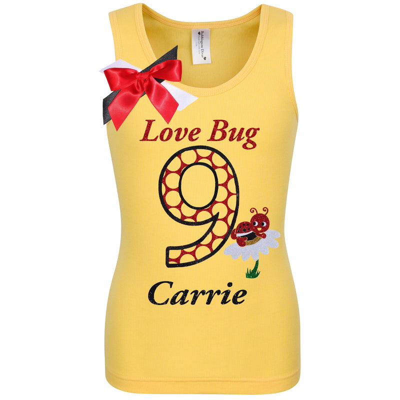 Lady Bug 9 Shirt