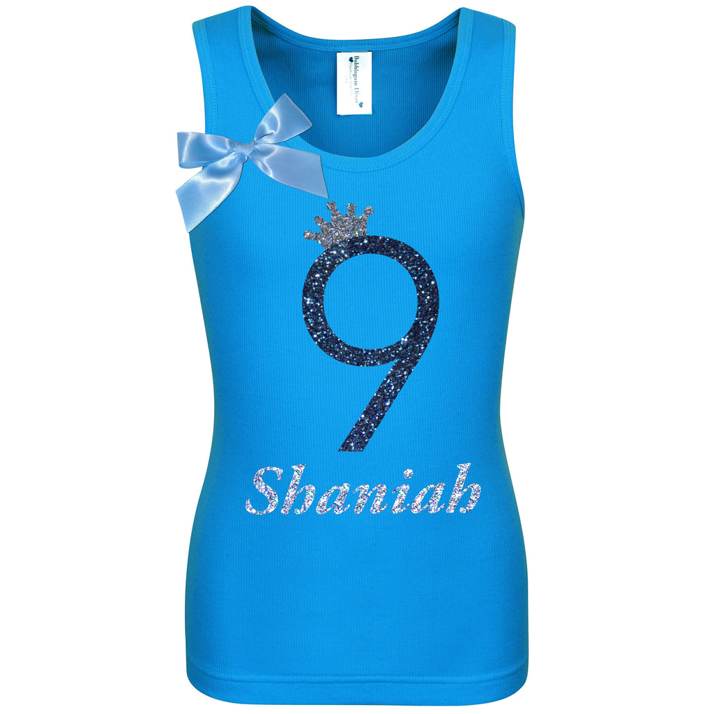 9th Birthday Shirt - Midnight Sand - Shirt - Bubblegum Divas Store
