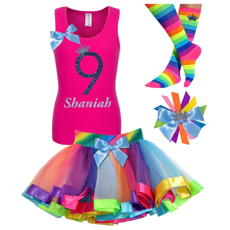 9th Birthday Outfit - Midnight Sand - Outfit - Bubblegum Divas Store