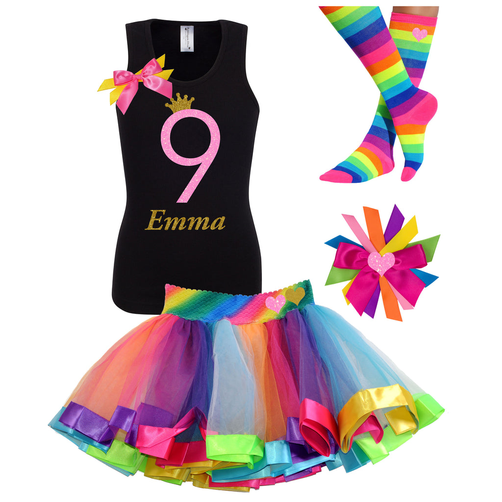 9th Birthday Outfit - Pink Sugar - Outfit - Bubblegum Divas Store