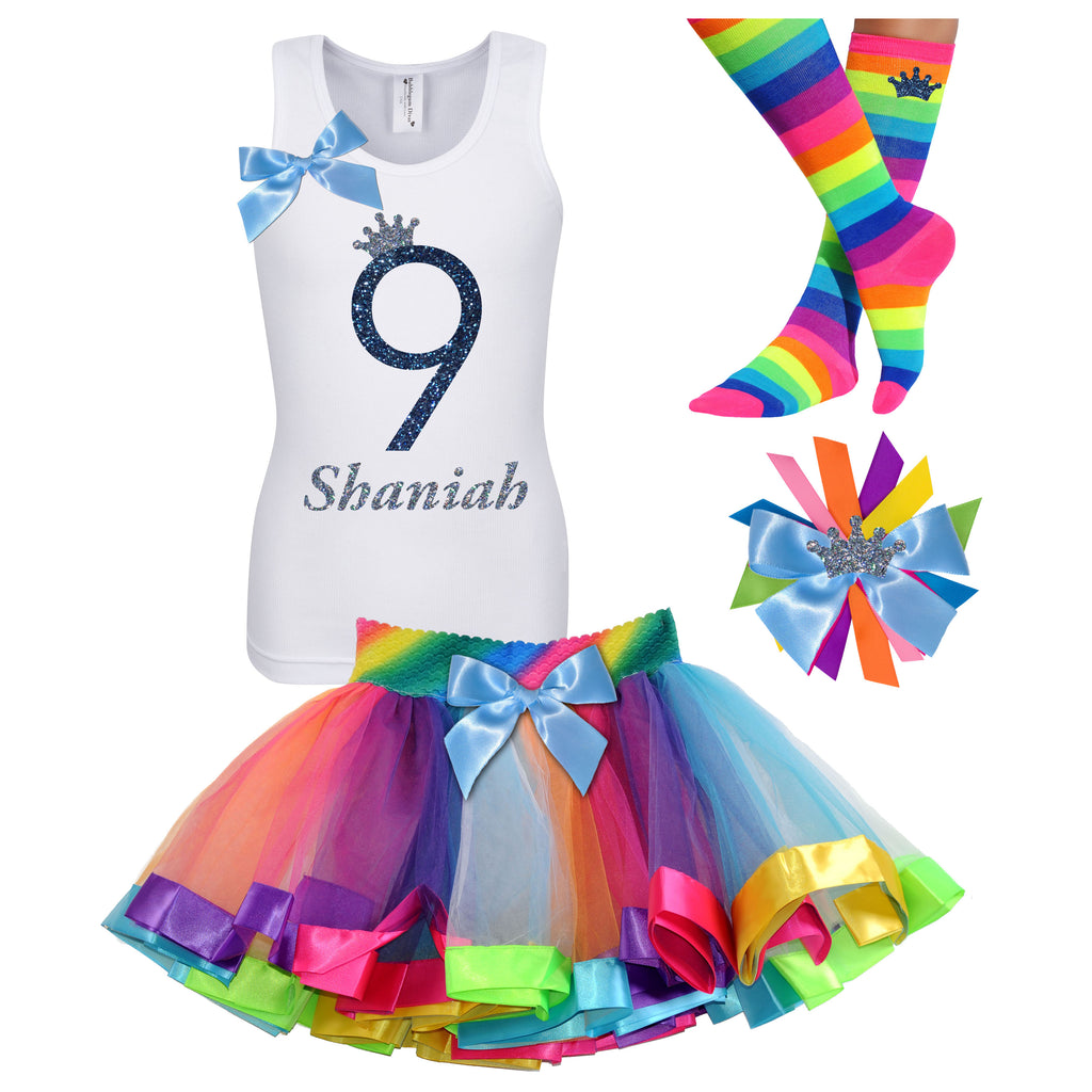 9th Birthday Outfit Midnight Sand - 9th Birthday Outfit - Bubblegum Divas Store