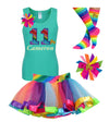 11th Birthday Outfit - Roller Skate Party - Outfit - Bubblegum Divas Store