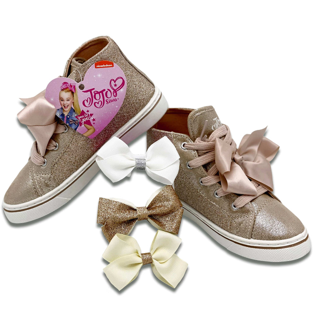 Jojo Siwa Gold High Top Shoes