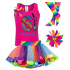 6th Birthday Outfit - Rock N Roll Party - Outfit - Bubblegum Divas Store