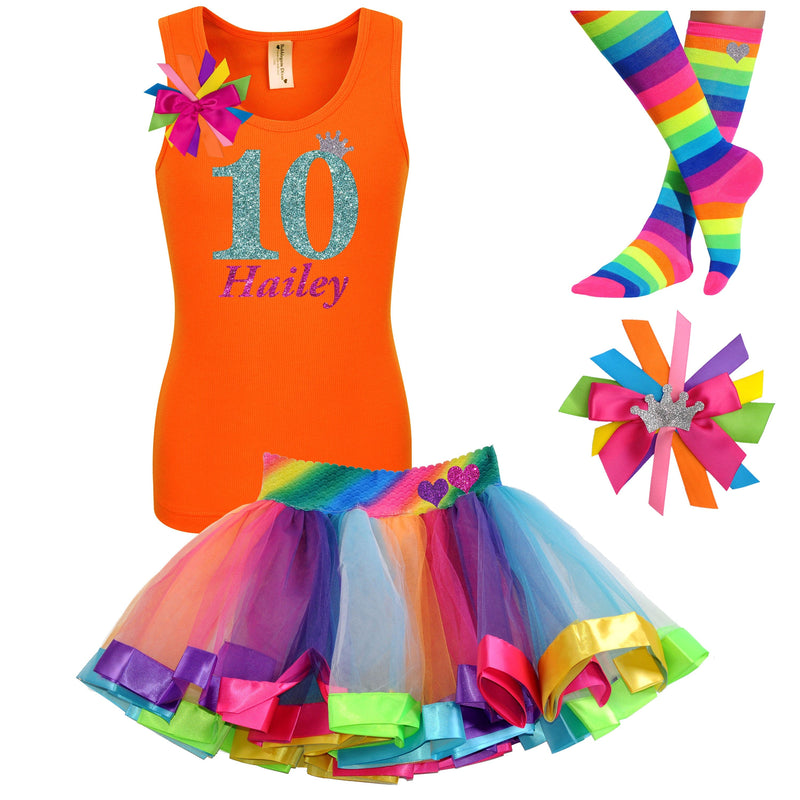 10th Birthday Outfit - Green Apple Twist - Outfit - Bubblegum Divas Store