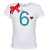 6th Birthday Shirt - Sweet Cherry Pie