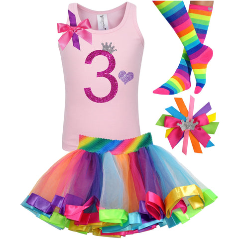 1st Birthday Outfit - Bubble Berry Sparkle