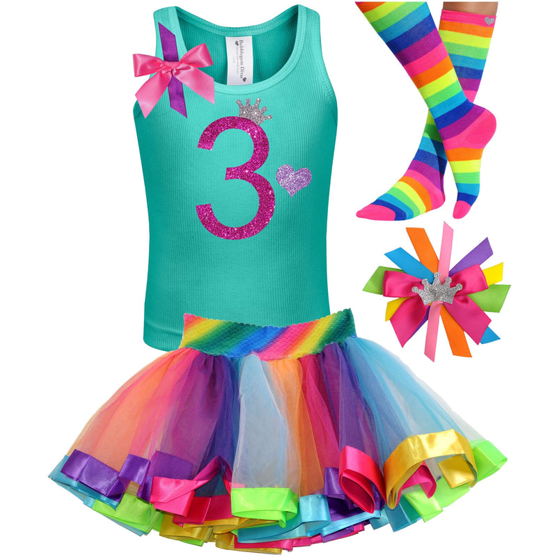 Bubble Berry Sparkle 3rd Birthday - Outfit - Bubblegum Divas Store