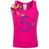 5th Birthday Shirt - Purple Bubble Sparkle - Shirt - Bubblegum Divas Store