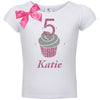 2nd Birthday Shirt - Pink Cupcake