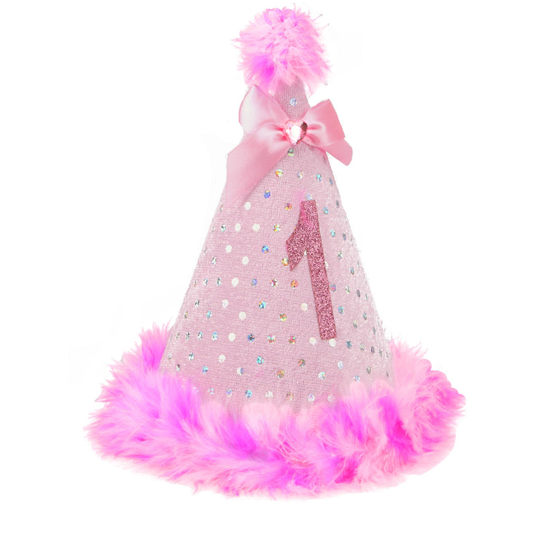 Party Hat - Pink Sparkle