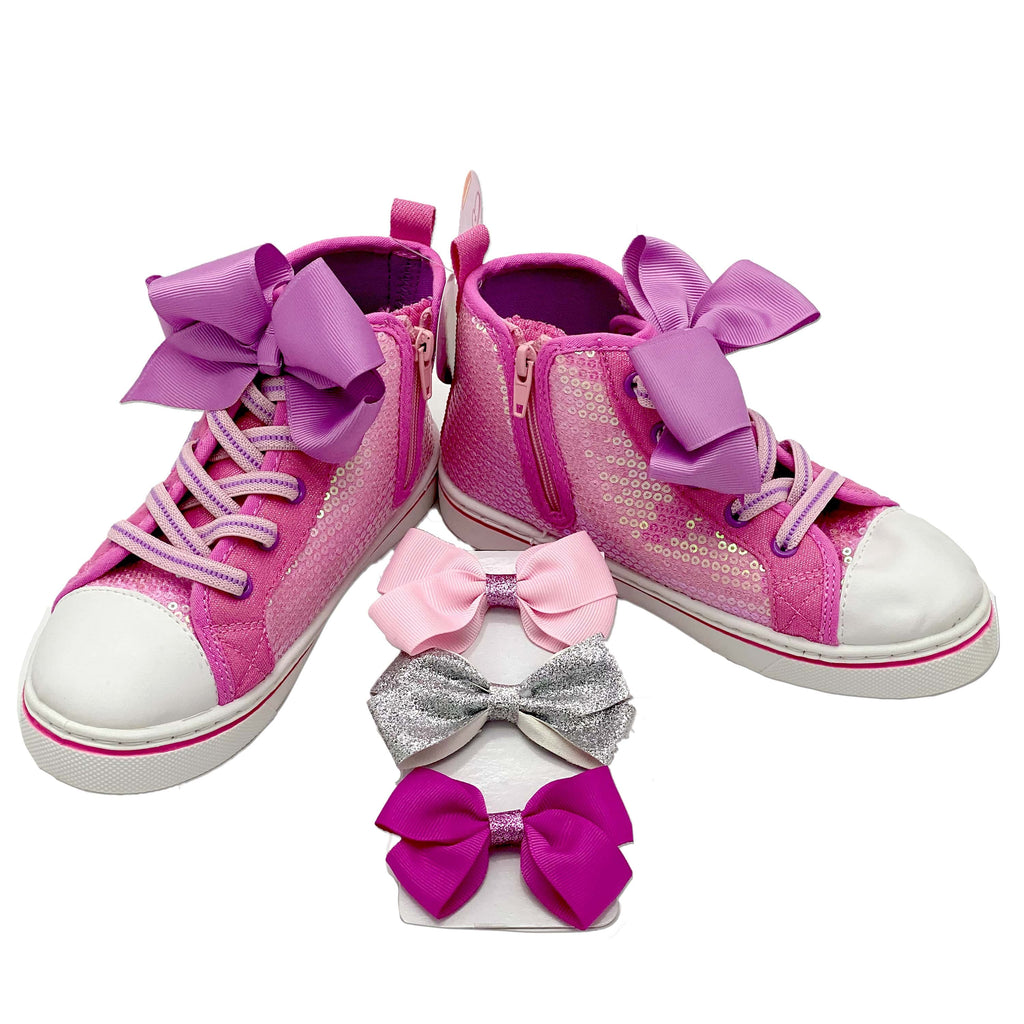 Jojo Siwa Pink Hightop Shoes