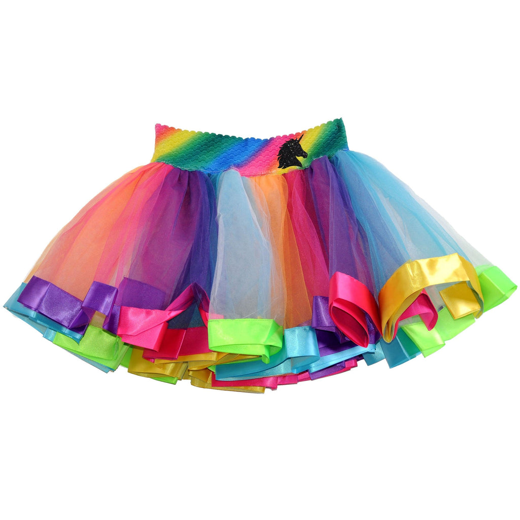 Rainbow Tutu - Black Unicorn