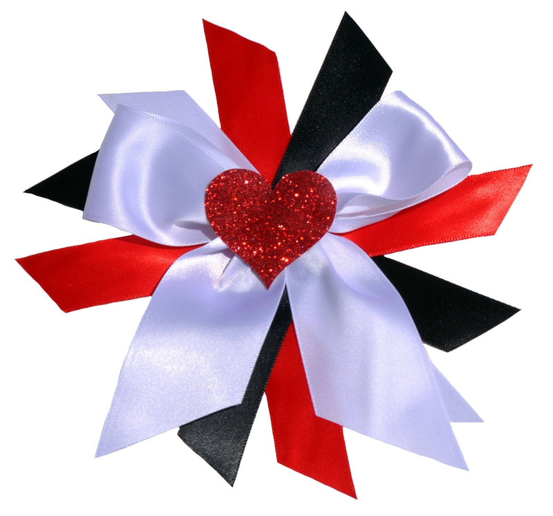 Hair Bow - Red Dazzle