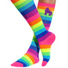 Unicorn Rainbow Knee High Socks