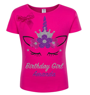 Flower Princess Shirt Pinky