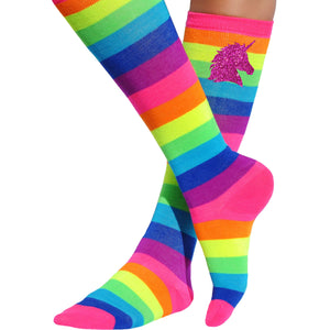 Girls Magical Unicorn Socks - Socks - Bubblegum Divas Store